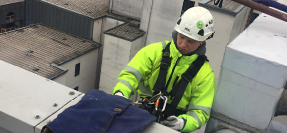 rope access cleaning services