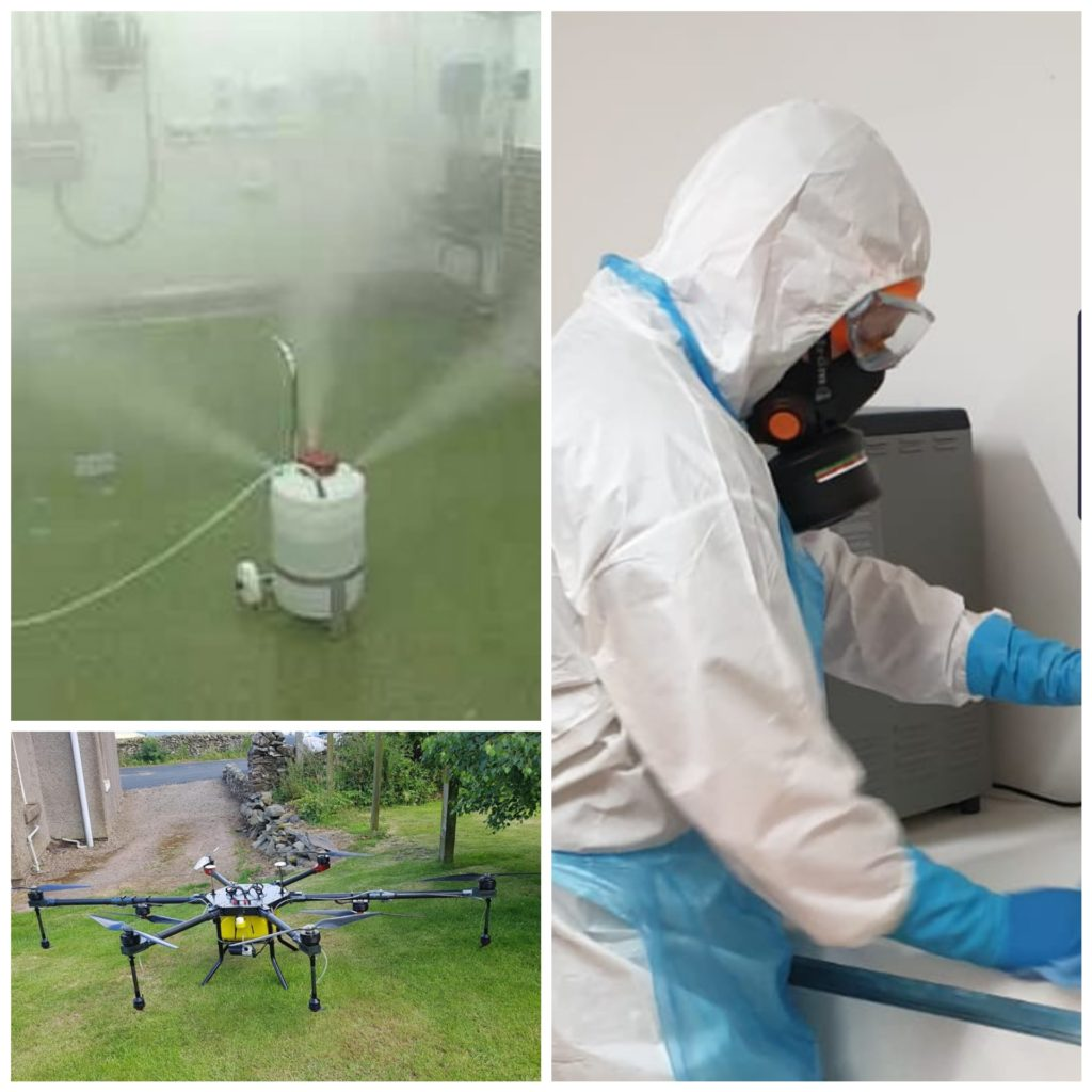 biohazard and virus cleaning