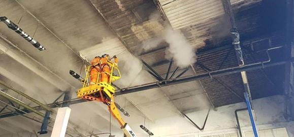fire restoration DOFF steam cleaning services