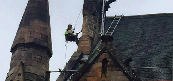 conservation cleaning Edinburgh